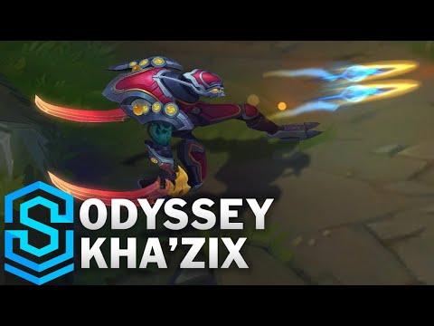 Odyssey Kha'Zix Skin Spotlight - League of Legends