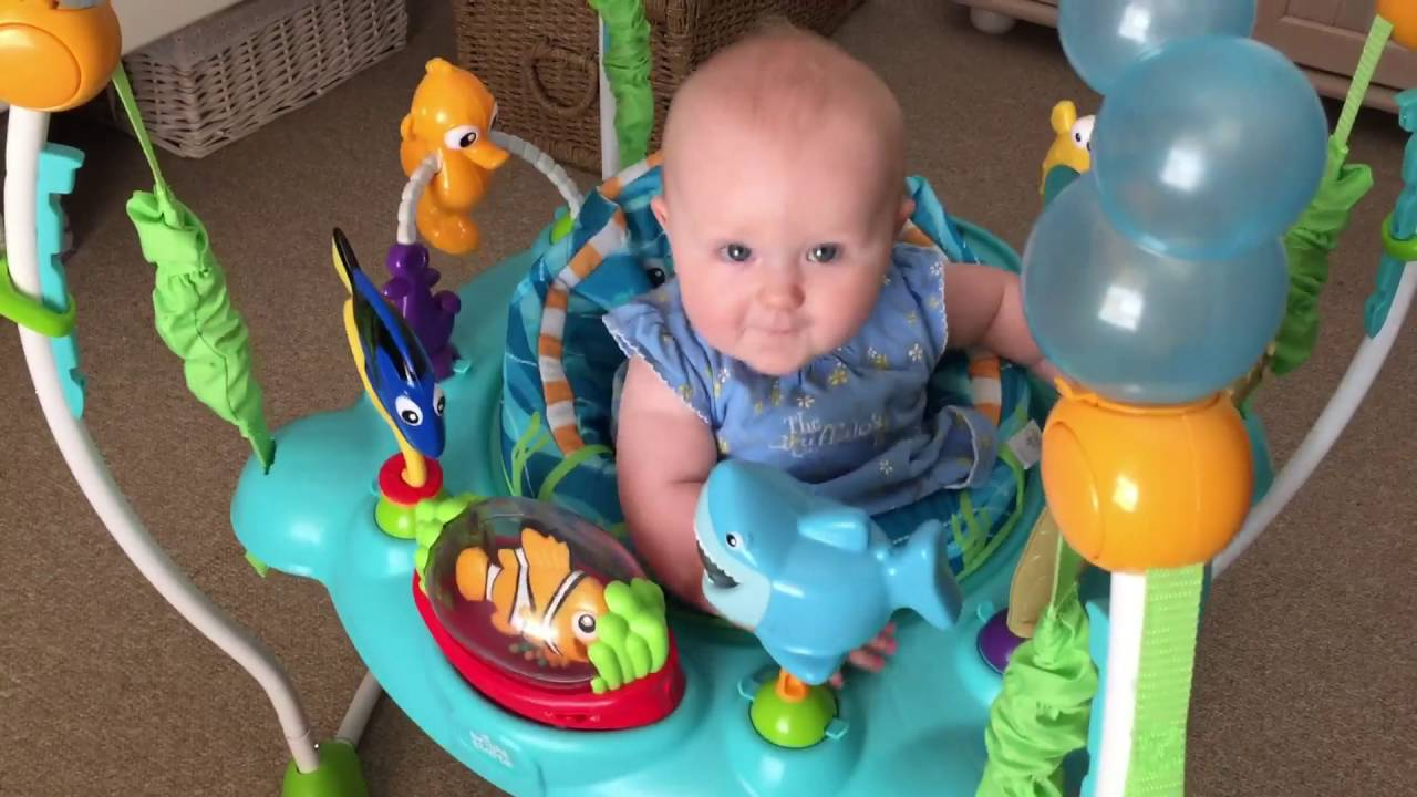 60fcfd35c Jump Around in a Finding Nemo Jumperoo! - YouTube