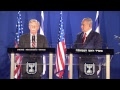 WATCH LIVE! Statements by PM Netanyahu and US National Security Adviser John Bolton