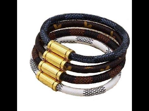 Распаковка посылок с сайта Aliexpress №167 Louis Vuitton браслет LV.
