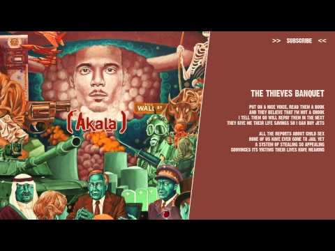 Akala - The Thieves Banquet - ( lyric video )