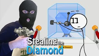 THE SNEAKY ROBBERY | Stealing The Diamond