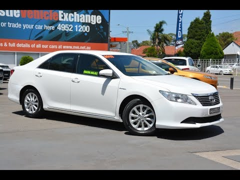 Toyota Aurion Automatic AT-X 2013 for sale @ Newcastle Vehicle Exchange