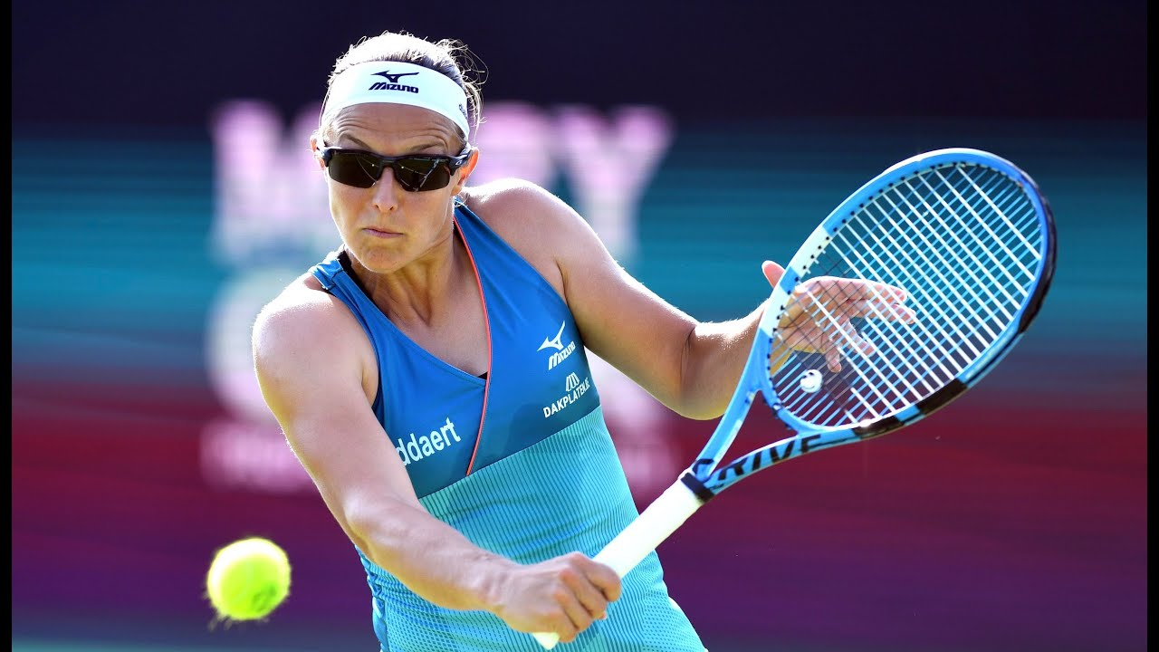 Kirsten Flipkens | 2019 Libema Open Day 5 | Shot of the Day