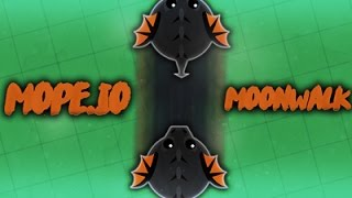 Mope.io // How to MOONWALK / go backward