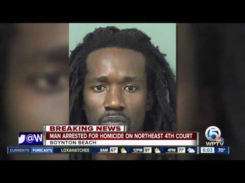 Suspect arrested in fatal shooting Saturday night in Boynton Beach