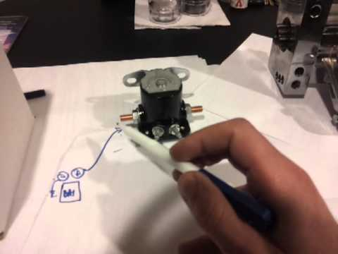 hqdefault diy starter remote mount solenoid easy step by step how to with wiring diagram for 4 pole starter solenoid at creativeand.co