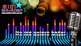 La gripa - Calibre 50 (MIDI - Karaoke)
