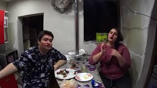 Пьём шампанское VILLA BLANCA с Олесей из Минусинска