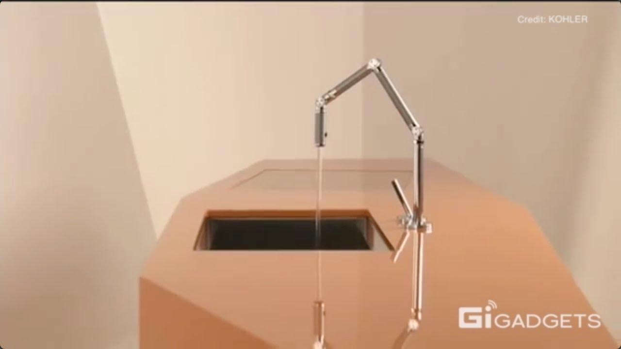 KOHLER Karbon Faucet   Flexible,water saving & good-looking - YouTube
