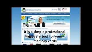 Professional photo recovery software