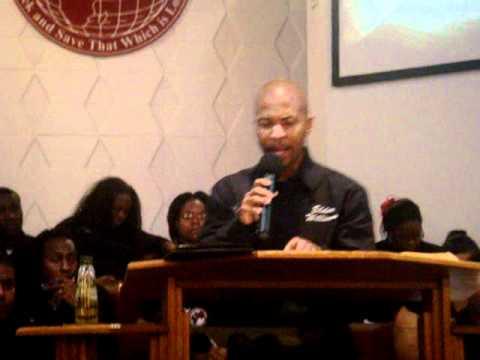 """Pt. 3 - """"God Chose Me"""" - Elder Davis Williams"""