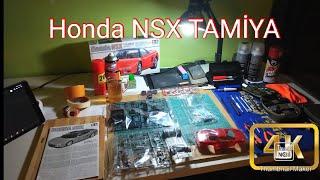 HONDA NSX TAMİYA 1/24 SCALE MODEL