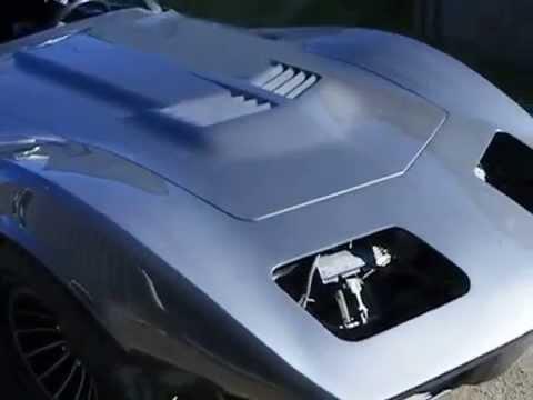 Corvette '76 Restomod Leaves The Paintshop (2)