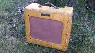 1951 Fender Deluxe 5A3 TV Tweed (Teardown & Demo)