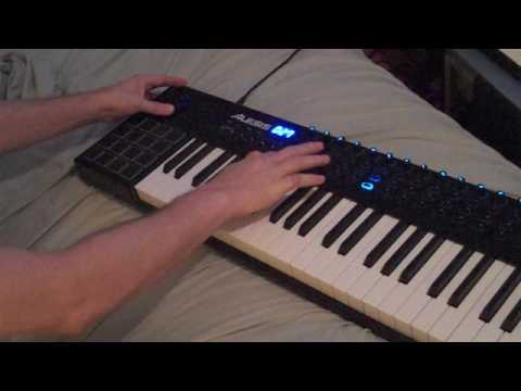 Alesis Vi61 quick beat/song demo