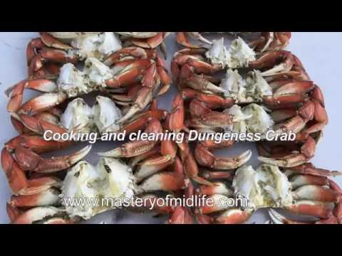 Cook, Clean and Crack Fresh Dungeness Crab