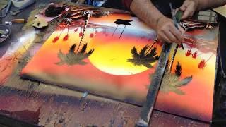 La Rambla Spray Paint Artwork