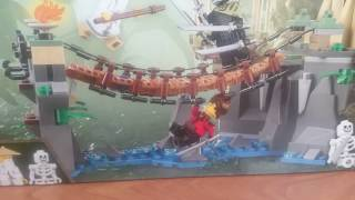 ЛЕГО Ниндзяго Фильм 70608 - обзор набора I LEGO the Ninjago movie 70608 set review