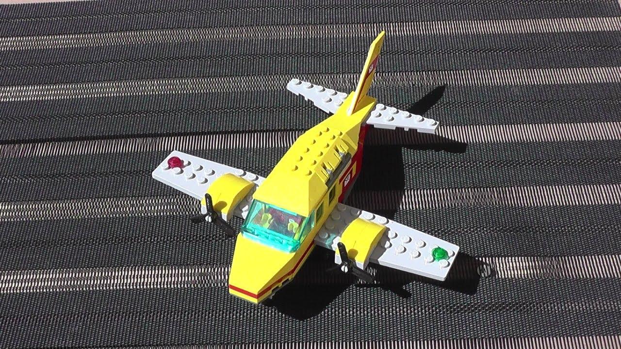 Lego Flugzeug Bauen Bauanleitung Für Kinder Tutorial Youtube
