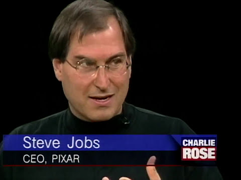 [FULL HD] Steve Jobs and John Lasseter interview on Pixar (1996)