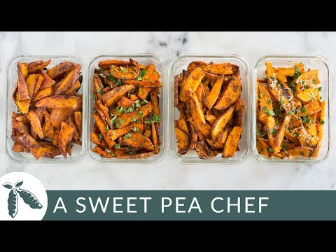 How long to cook sweet potato slices in oven