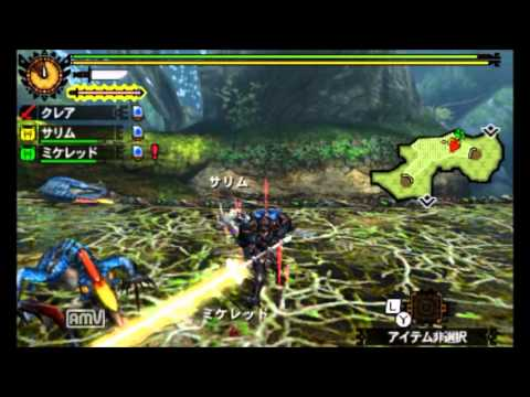 MH4G旅団★7 勇者は兵長の奇襲を受けて(ドスランポス×2)【太刀】