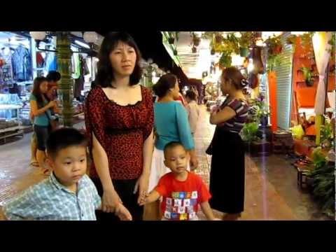 Chợ đêm SiemRiep - Campuchia