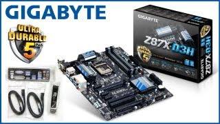 материнская плата Gigabyte GA Z87X D3H. Распаковка, краткий обзор