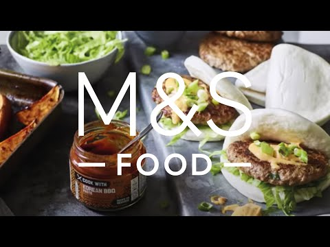 M&S Food | Cook With M&S...Spicy BBQ Pork Burgers