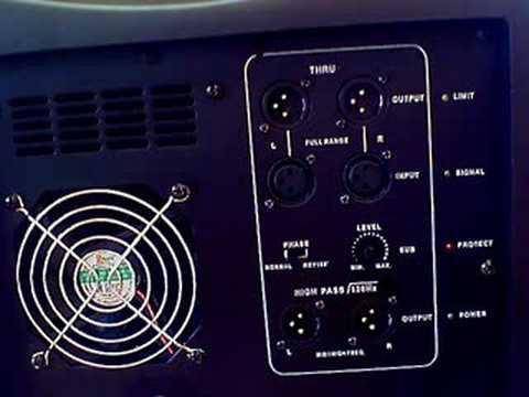 DJ TUTOR - Jason Looks @ the ASUB-15 from LD Systems