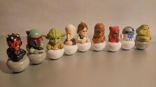 Фигурки Звездные войны из ГМ Магнит! Распаковка 9 пакетиков!(Распаковка фигурок - персонажей из