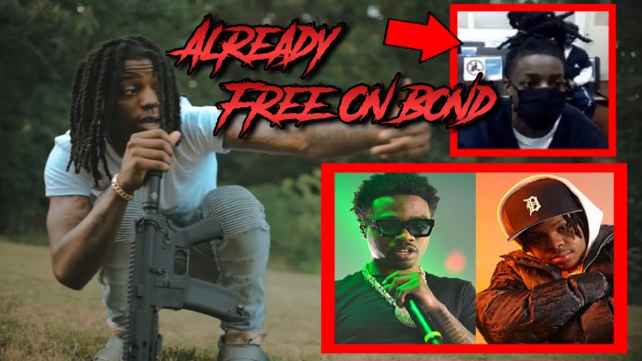OMB PEEZY ARRESTED FOR DOUBLE SHOOTING AT RODDY RICCH/42 DUGG MUSIC VIDEO