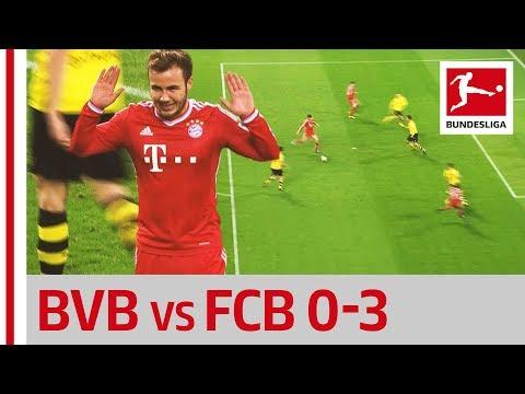 Götze's Return - Borussia Dortmund vs. Bayern München