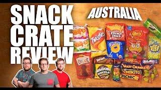 Australian Snacks - SnackCrate Unboxing - Dudes N Space