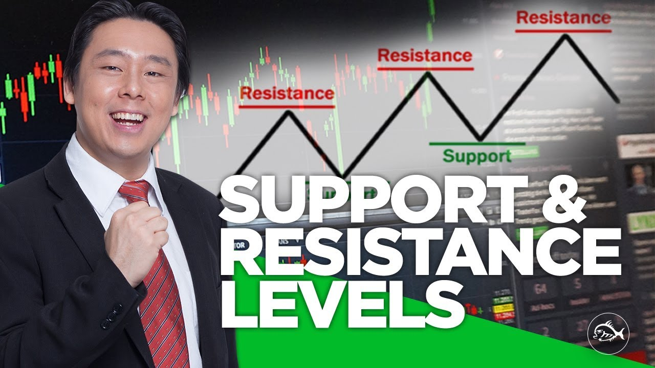 identifying support u0026 resistance levels in stock trading charts by adam khoo