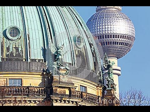 BERLIN TV TOWER + BERLIN CATHEDRAL, PANORAMIC VIEWS, NOVEMBER 2016
