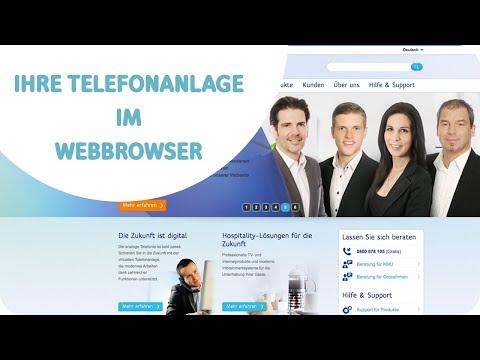 Ihre Telefonanlage im Webbrowser