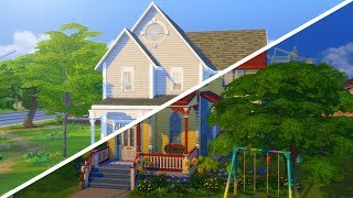 CLOWN HOUSE TO SUBURBAN DREAM // The Sims 4: Fixer Upper - Home Renovation