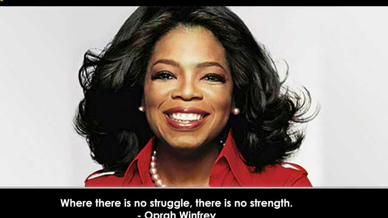 Oprah Winfrey Quotes - YouTube