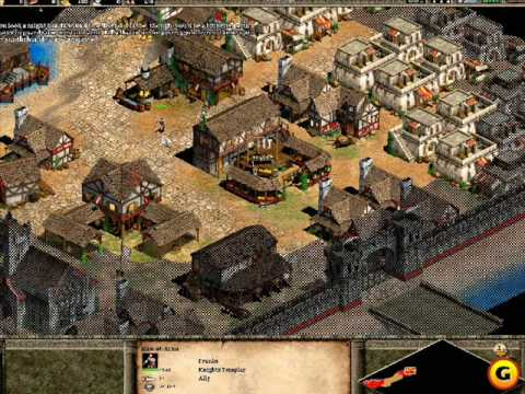 Age of Empires II -Shamburger and Beauti  played together