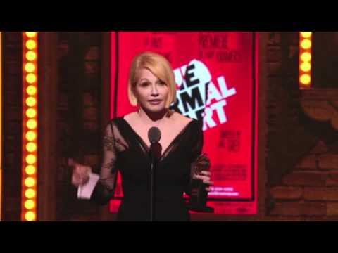 Tony Awards Acceptance Speech - Ellen Barkin - The Normal Heart