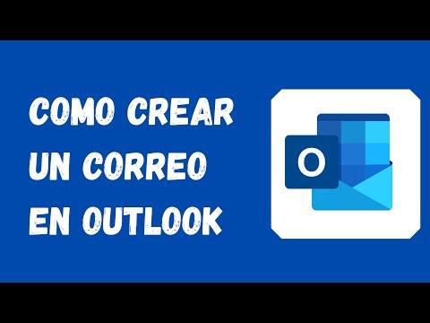 🔵 como crear un correo electrónico en outlook 💻 2021