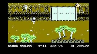 Commando 2 (All 3 new levels)  DSE Crew   C64 Commodore 64 game longplay