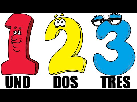 ♫ Spanish Numbers Song ♫ La Canción de los Números ♫ Contar del 1 al 10 ♫