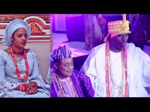 OONI OF IFE STEP OUT AFTER THE TRADITIONAL  WEDDING OF HIS NEW OLOORI @ ALAAFIN OYO 80TH BIRTHDAY