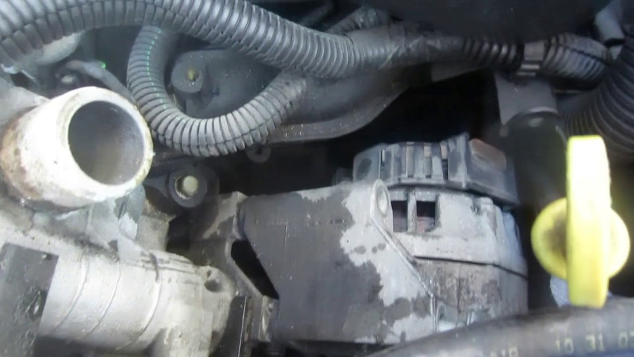 hight resolution of replace alternator 2002 2003 2004 oldsmobile alero 2 2l chevy cavalier saturn ion pontiac sunfire