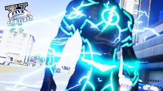 GTA 5 PC - The Future Flash ! 100% Speed Of The Flash ! (Ultimate Flash Mod Gameplay)🏃🏽⚡️