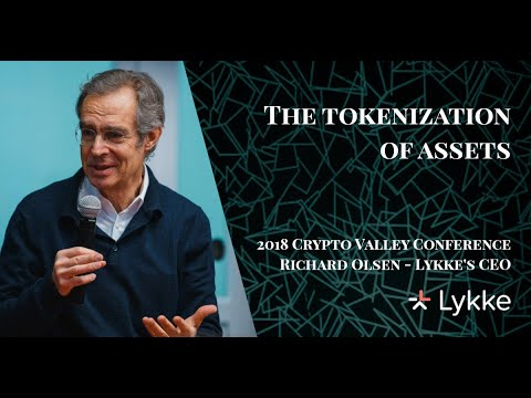 The Tokenization of Assets – @richardbolsen Lykke's CEO at 2018 at The Crypto Valley Conference