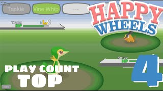HAPPY WHEELS TOP 5 Play Count of the week #4